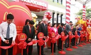 McDonald's khánh thành nhà hàng đầu tiên tại Việt Nam
