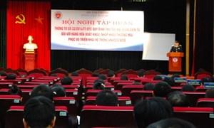 Tập huấn Thông tư 22/2014/TT-BTC cho doanh nghiệp