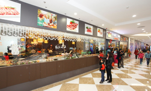 Ngày hội ẩm thực tại hệ thống Vincom Mega Mall