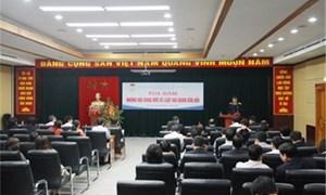 Chi hội Luật gia Tổng cục Hải quan giao lưu, tọa đàm về những nội dung mới của Luật Hải quan sửa đổi
