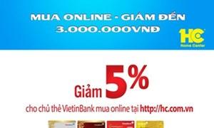 Mua online tại hc.com.vn giảm đến 3 triệu đồng