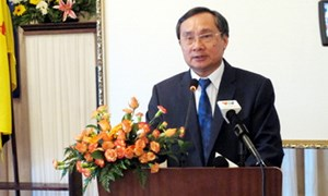 Tổng cục trưởng Nguyễn Ngọc Túc phát biểu tại Hội nghị Tổng cục trưởng Hải quan ASEAN lần thứ 23