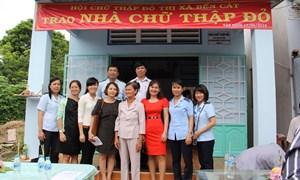 Chi cục Hải quan Mỹ Phước - Bình Dương hỗ trợ xây nhà tình thương