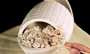 Sứ Minh Long: Tinh hoa từ đất