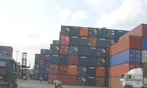 Trên 1.000 container hàng tồn đọng tại cảng Sài Gòn