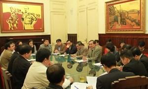 Tổng cục trưởng làm việc với Lãnh đạo Bộ GTVT về triển khai cơ chế một cửa quốc gia