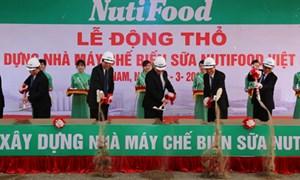 NutiFood xây dựng nhà máy sữa lớn nhất miền Bắc