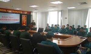 Khai mạc lớp huấn luyện dân quân tự vệ năm 2015