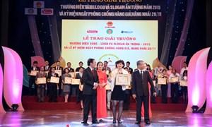 MobiFone đạt giải thưởng Slogan ấn tượng năm 2015