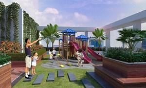 Lộ diện thiết kế cảnh quan nội khu dự án Hateco Hoàng Mai