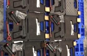 Tịch thu số lượng lớn súng quân dụng nhập lậu