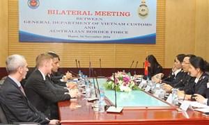 Hải quan Việt Nam-Australia nâng tầm hợp tác trong đào tạo, trao đổi thông tin