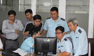 Kết nối hệ thống công nghệ thông tin giám sát tại cảng Cát Lái