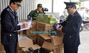 Hải quan Quảng Ninh phát hiện nhiều vụ vận chuyển hàng lậu