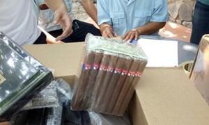Bắt giữ lô hàng lậu khoảng 13 tỷ đồng tại cửa khẩu Mộc Bài