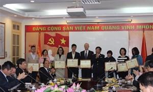 Hải quan Hà Nội: Tôn vinh 30 doanh nghiệp tiêu biểu