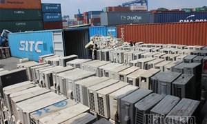Phát hiện 3 container hàng điện lạnh nhập lậu qua cảng Cát Lái