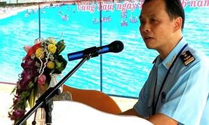Khai mạc hội thao nghiệp vụ Hải quan thường niên trên biển 2017