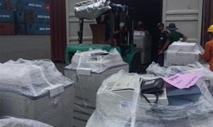 Phát hiện lô hàng nhập lậu tại cảng Cái Mép