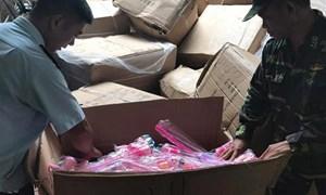 Quảng Ninh: Liên tiếp bắt giữ đồ chơi trẻ em phục vụ dịp tết Trung thu