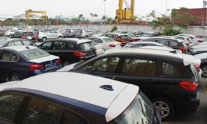 Nhiều xe ô tô hạng sang tồn đọng tại cảng Container quốc tế TP. Hồ Chí Minh