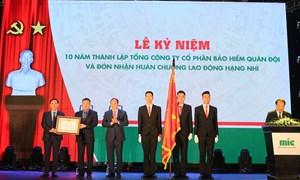 Lễ Kỷ niệm 10 năm thành lập MIC  và đón nhận Huân chương Lao động Hạng Nhì