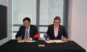 Hải quan Việt Nam và Hải quan New Zealand ký kết chương trình hợp tác giai đoạn 2017-2019