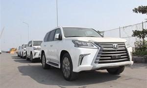 """Toyota nhập ô tô kiểu """"nửa nạc, nửa mỡ"""" hải quan cũng khó"""