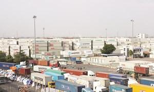 Hàng nghìn container phế liệu nằm tại cảng Cát Lái chưa làm thủ tục