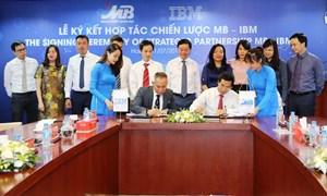 Ngân hàng TMCP Quân đội ký kết thỏa thuận hợp tác chiến lược với tập đoàn IBM