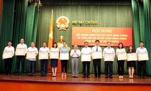 Tổng cục Hải quan dẫn đầu toàn ngành Tài chính về cải cách hành chính
