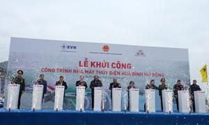 Vietcombank tài trợ 4.000 tỷ đồng xây dựng nhà máy thủy điện Hòa Bình mở rộng