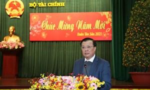 Bộ Tài chính gặp mặt cán bộ hưu trí nhân dịp xuân Tân Sửu 2021