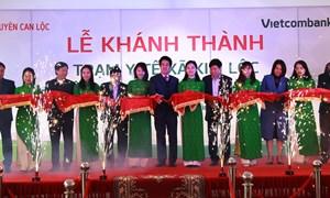 Vietcombank bàn giao công trình an sinh xã hội Trạm Y tế xã Kim Lộc, Hà Tĩnh