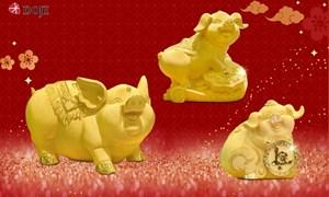 Nhà vàng tung loạt sản phẩm độc, lạ phục vụ ngày vía Thần Tài