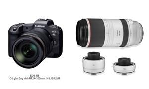 Canon phát triển dòng máy ảnh không gương lật và ống kính RF mới