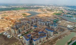 Vốn ngân hàng đổ vào bất động sản tăng trưởng ổn định