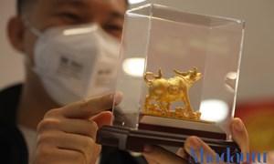 Ngày vía Thần Tài mùa Covid-19, thay vì xếp hàng, khách hàng mua vàng online