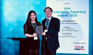 Bảo Việt đạt giải Báo cáo Phát triển bền vững  minh bạch nhất Châu Á