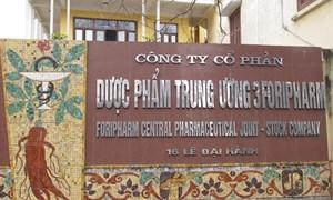 Đấu giá thành công cổ phần Dược phẩm Trung Ương 3 và quyền mua cổ phiếu Khách sạn và Du lịch Bảo Việt