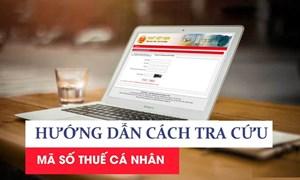 02 cách tra cứu mã số thuế cá nhân phục vụ quyết toán thuế