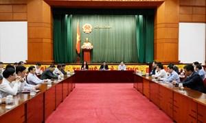 100% cử tri nhất trí giới thiệu Bộ trưởng Đinh Tiến Dũng ứng cử Đại biểu Quốc hội khóa XV