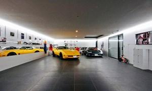 Những căn phòng để xe siêu đắt đỏ của giới nhà giàu