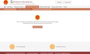 Vietcombank - Ngân hàng duy nhất thanh toán trực tuyến theo cơ chế đăng nhập một lần trên Cổng Dịch vụ công quốc gia