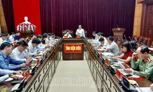 Bộ trưởng Đinh Tiến Dũng làm việc tại tỉnh Sơn La và Điện Biên