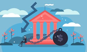 Ngân hàng đối diện với thách thức nợ xấu