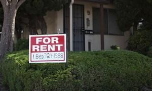 Thị trường cho thuê nhà tại Mỹ ngày càng