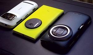 Camera trên các dòng điện thoại