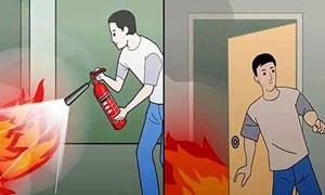 Kỹ năng thoát khỏi đám cháy bạn buộc phải biết để bảo toàn tính mạng
