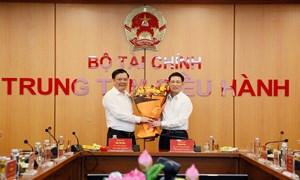 Bộ trưởng Hồ Đức Phớc: Quyết tâm cùng ngành Tài chính hoàn thành xuất sắc nhiệm vụ được giao